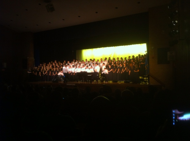 Newington High School choral groups  May 30th